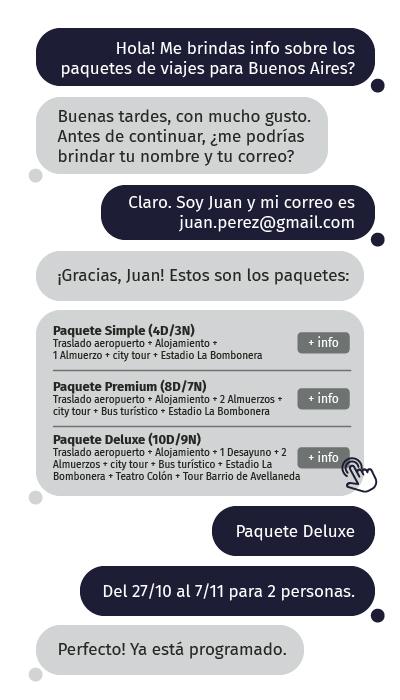 chatbots para clientes en peru